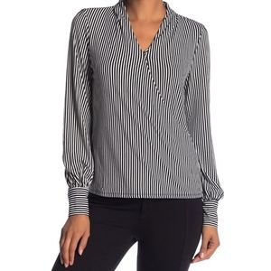Adrianna Papell Faux Wrap Blouse
